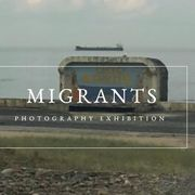 Migrants exhibition poster