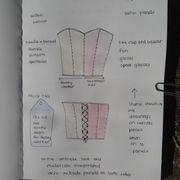 corset drawing 1