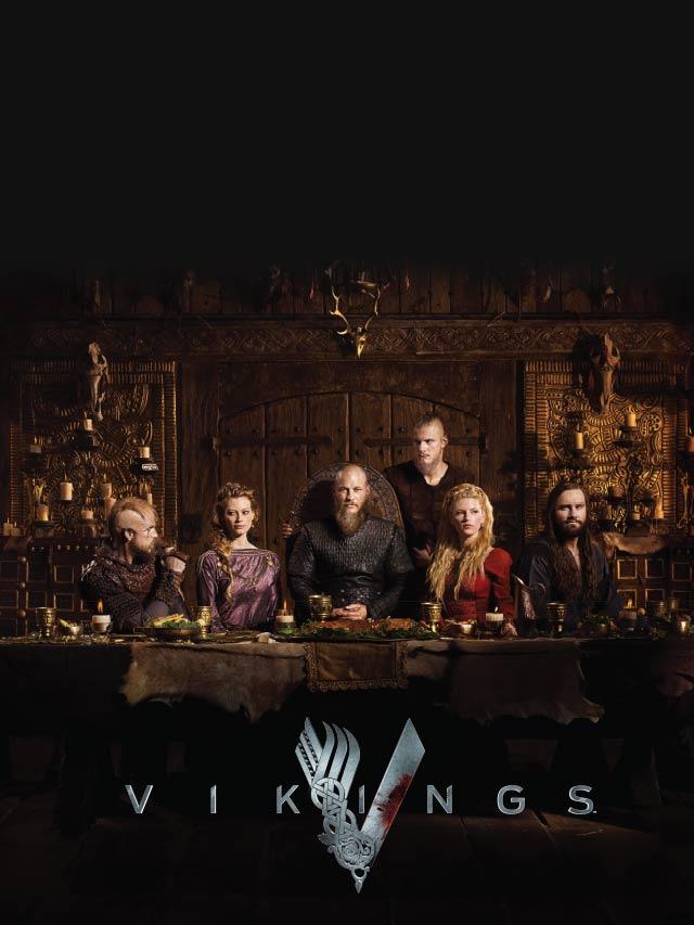 Викинги / Vikings 4 сезон. Эпизоды с 1 по 20.