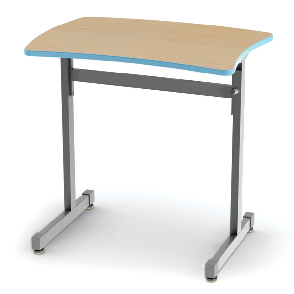 Collaborative Student Desks ~ Smith system silhouette curve school desk adjustable