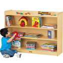 Click here for more Mobile Adjustable Bookcase with Lip by Jonti-Craft by Worthington