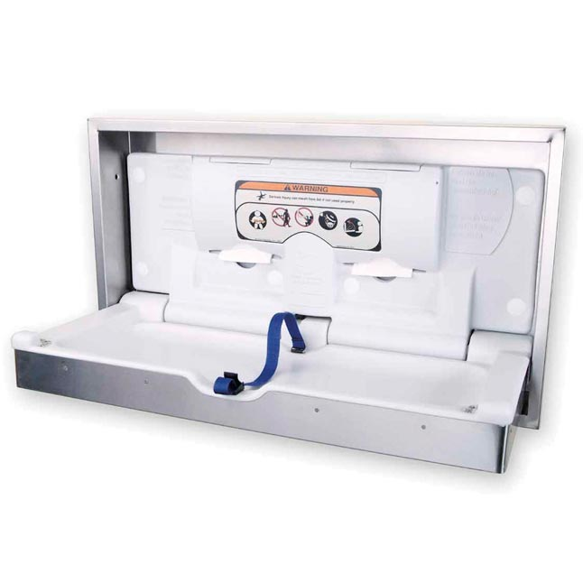 100-ssc-sm-clad-stainless-steel-horizontal-wall-changing-station-surface-mount