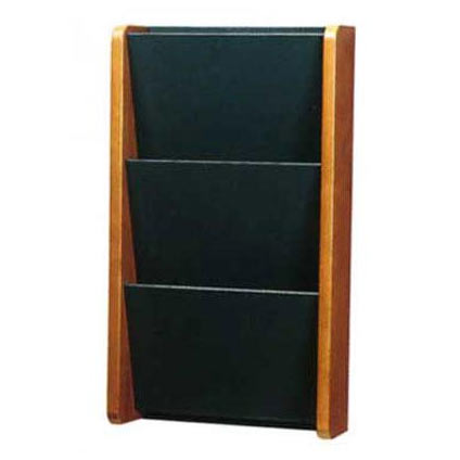 1030-solid-painted-front-pocket-wall-magazine-rack-3-pocket