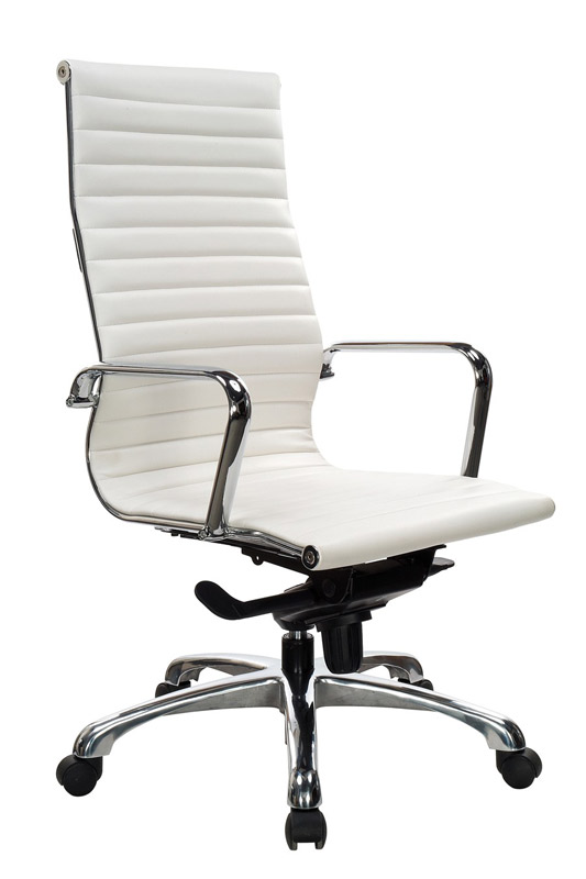 stock ndi office furniture 10811kt segmented leather executive swivel office chair