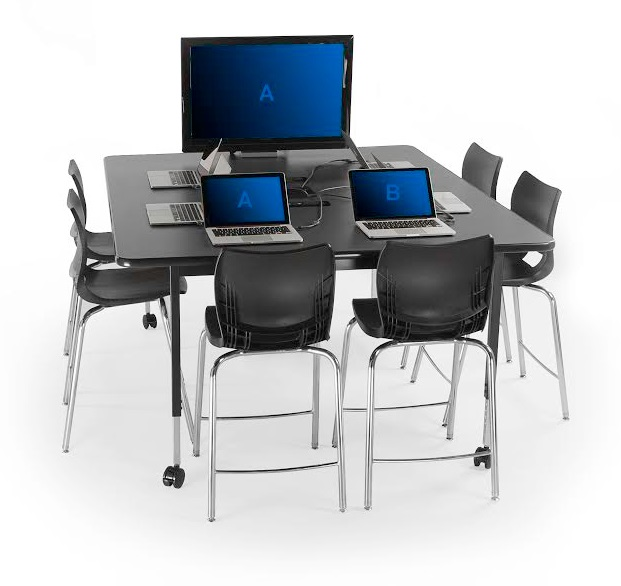 Planner Multimedia Table by Smith System