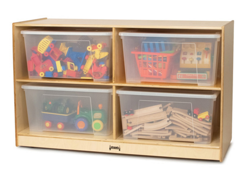 1336jc-jumbo-mobile-tote-storage-unit-with-clear-totes-lids