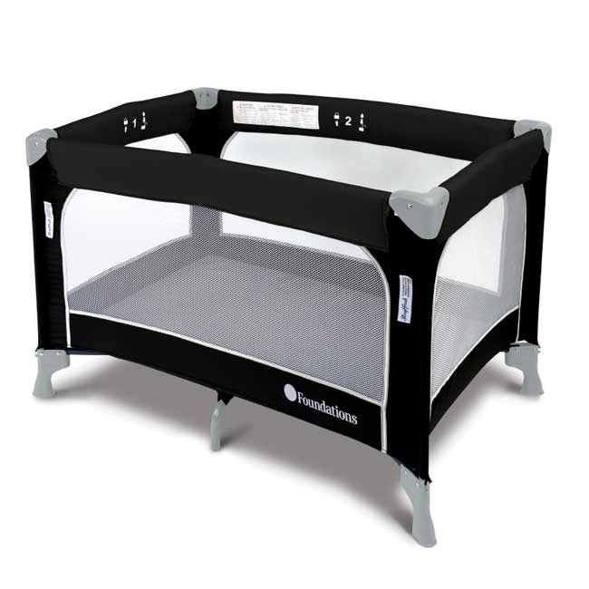 1456217-sleepfresh-celebrity-play-yard-crib-graphite
