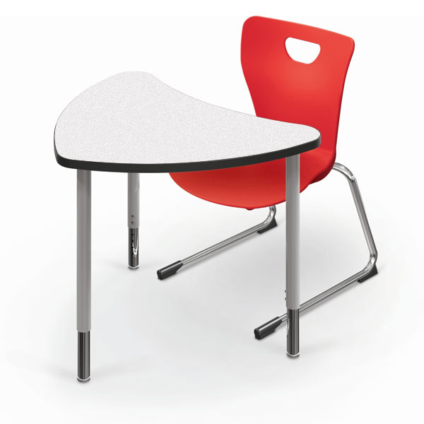 Collaborative Student Desks ~ Balt chevron collaborative student desk small gx