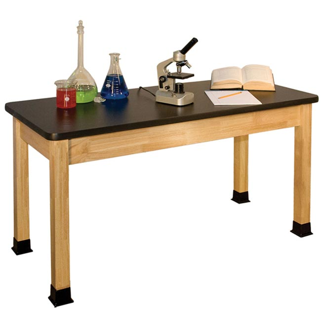 Clean lab table