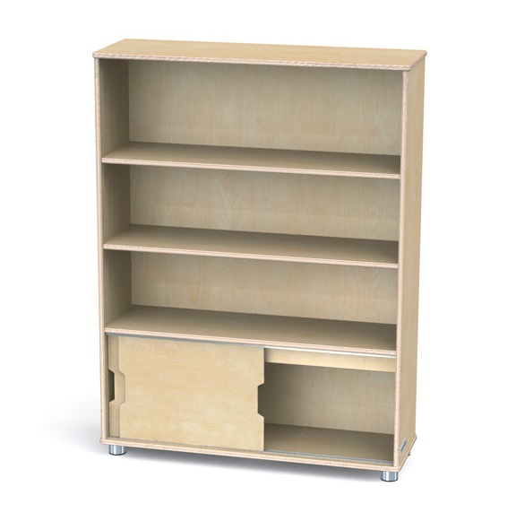 Jonti Craft Truemodern Bookcase 48 H 1724jc Bookcases Worthington Direct