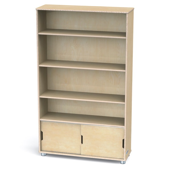 Jonti Craft Truemodern Bookcase 60 H 1725jc Bookcases Worthington Direct