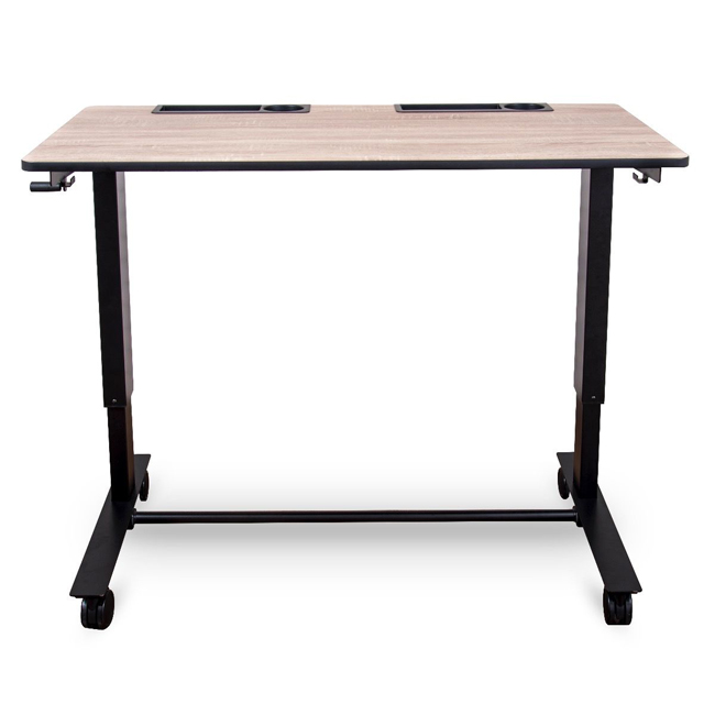 Two Student Standing Desk With Crank Handle By Luxor, 2 STUDENT C   Stock  #58273