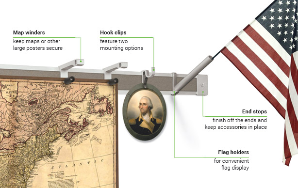 513-2-map-hook-clip-with-flag-holder