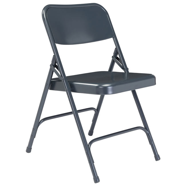 204-blue-18-gauge-steel-folding-chair-with-double-hinge