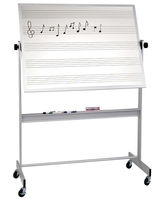 668agmd-4-x-6-deluxe-reversible-doublesided-porcelain-markerboard-with-music-lines-one-side