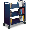 Click here for more Booktruck with 6 Slant Shelves by Smith System by Worthington