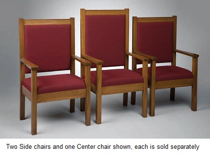 400spc-classic-style-side-pulpit-chair-with-fabric-seat-and-back