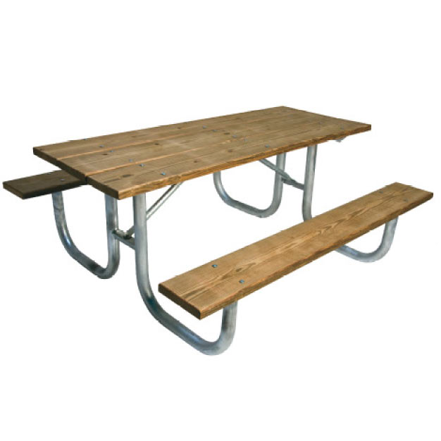 238hspt8-pressure-treated-wood-steel-extra-heavyduty-picnic-table-ada-single-sided