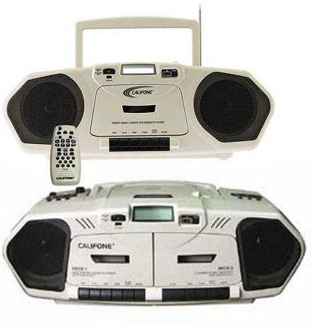 califone-6-watt-combo-cd-cassette-recorder