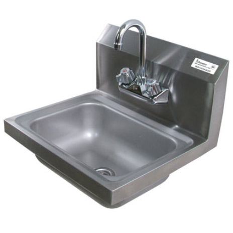 Stainless Steel Hand Sink with Faucet by Shain