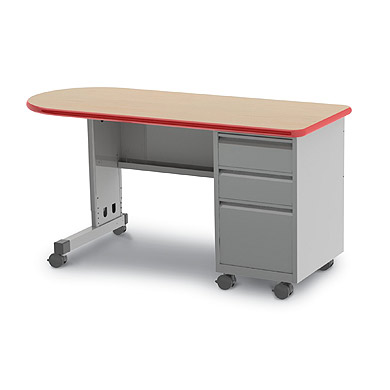 26161-bullet-cascade-teacher-desk-w-single-pedestal-drawers-60-w-x-20-d