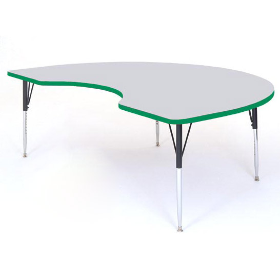 a4872kid-kidney-color-banded-activity-table-gray-granite-top-48-x-72