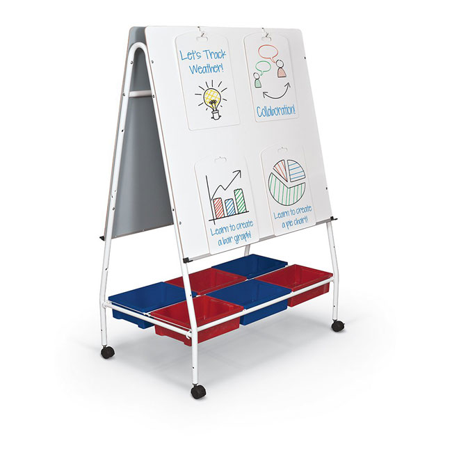 Mobile Lap Board Teacher Easel by Best-Rite