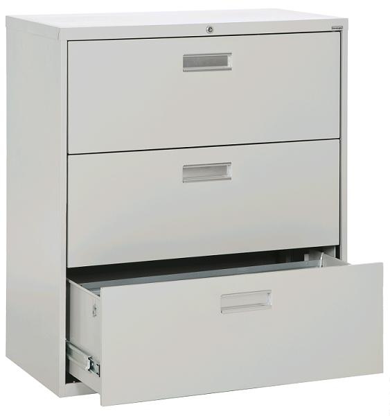 sandusky lateral file cabinet 3 drawer 36 quot w lf6a363 00 file cabinets worthington direct