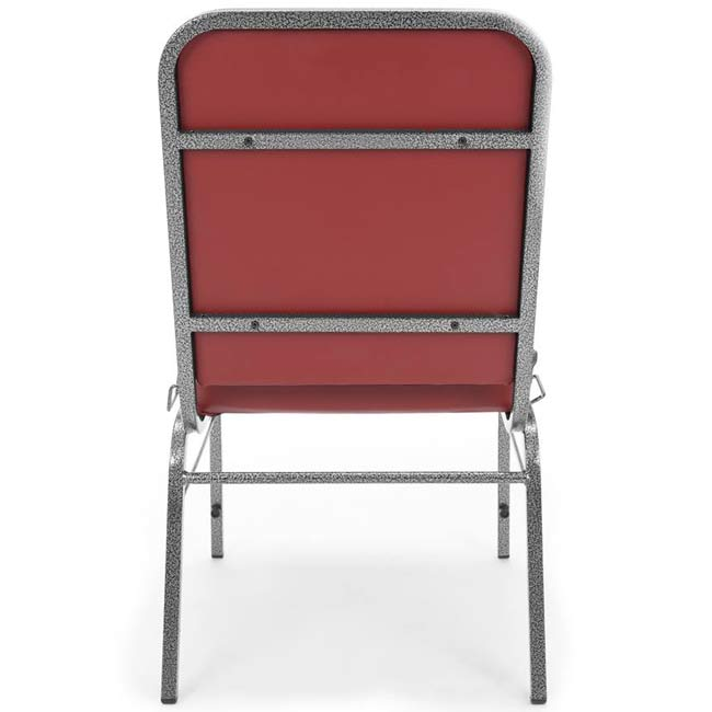 Anti Microbial Vinyl Big And Tall Stacking Arm Chair By Ofm By OFM,  300 XL VAM   Stock #31137