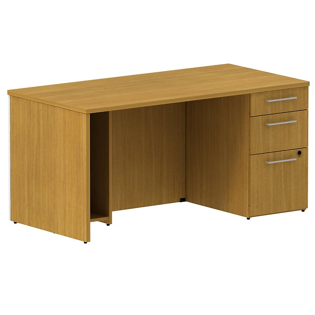 300sdsp60xxk-realize-series-single-pedestal-desk-60-w-x-30-d