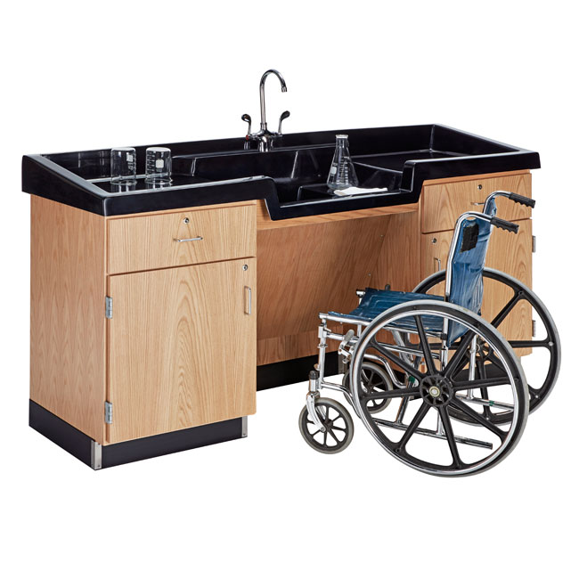 cleaning kitchen sink diversified woodcrafts sheldon rinse away sink ada model 2237
