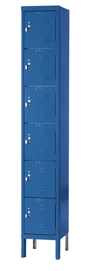 u12886-12wx18dx12h-unassembled-six-tier-box-lockers-1section-wide-6-openings