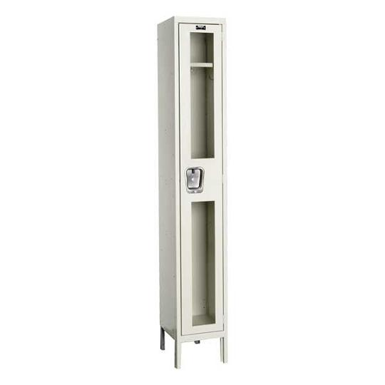 usv12881-safety-view-onewide-singletier-locker-unassembled-12-w-x-18-d-x-72-h-opening