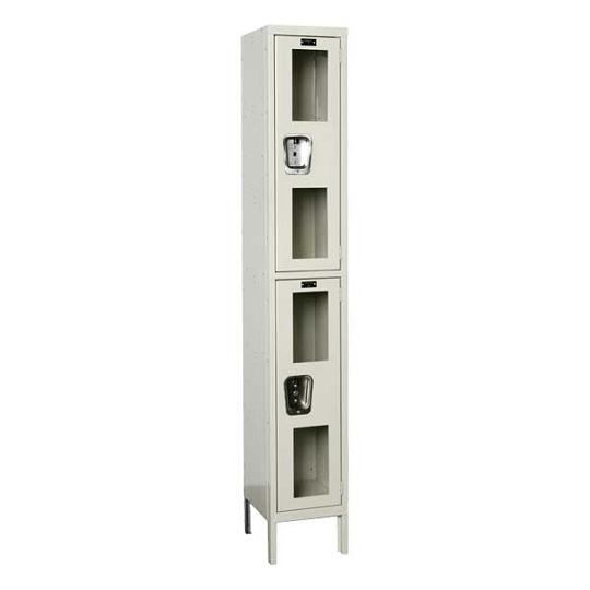 usv12282-safety-view-onewide-doubletier-locker-unassembled-12-w-x-12-d-x-36-h-opening