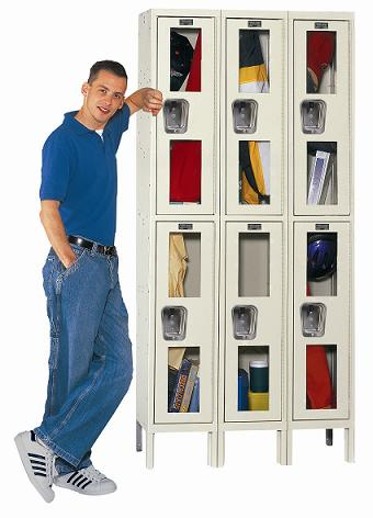 usv32882a-safety-view-threewide-doubletier-locker-assembled-12-w-x-18-d-x-36-h-opening