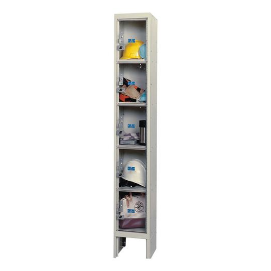 usvp12865-safety-view-onewide-fivetier-locker-unassembled-12-w-x-18-d-x-12-h-opening