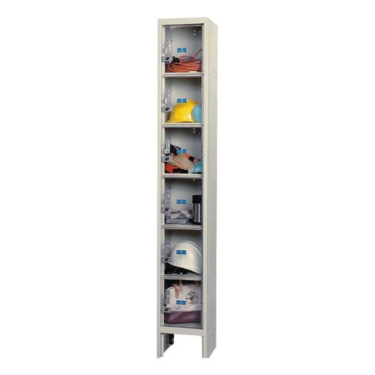 usvp12586-safety-view-onewide-sixtier-locker-unassembled-12-w-x-15-d-x-12-h-opening