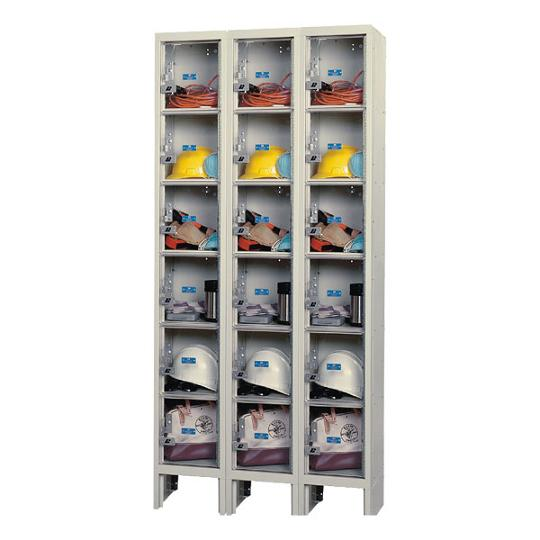 usvp32886-safety-view-threewide-sixtier-locker-unassembled-12-w-x-18-d-x-12-h-opening