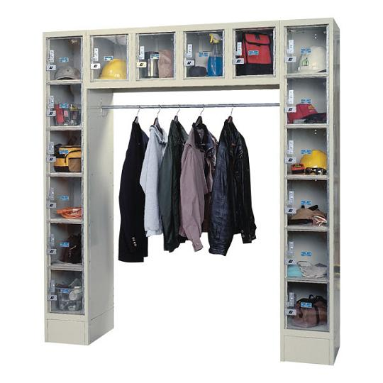 Safety View Metal 16-Locker Unit by Hallowell