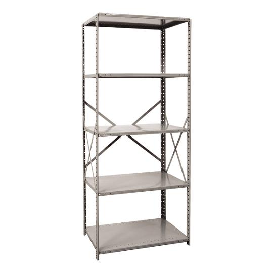 571024-heavyduty-open-shelving-starter-unit-w-5-shelves-48-w-x-24-d