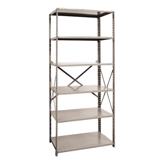 551118-heavyduty-open-shelving-starter-unit-w-6-shelves-36-w-x-18-d