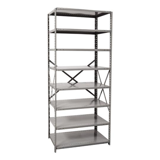 451312-mediumduty-open-shelving-starter-unit-w-8-shelves-36-w-x-12-d