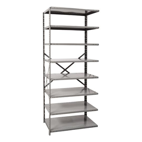 a451312-mediumduty-open-shelving-adder-unit-w-8-shelves-36-w-x-12-d