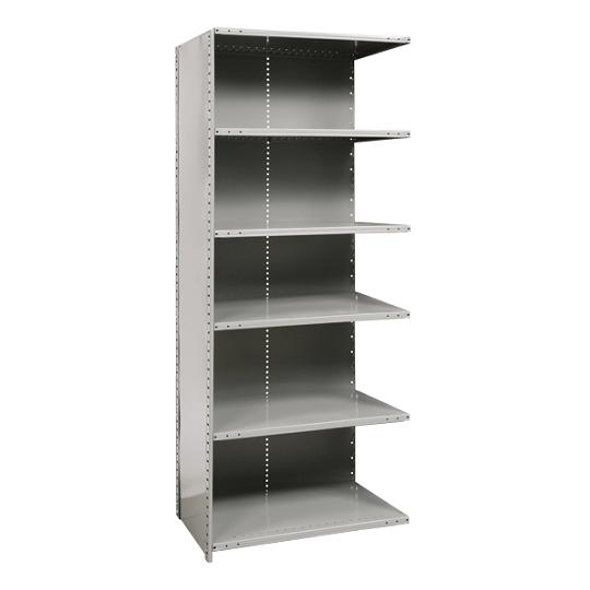 a572112-heavyduty-closed-shelving-adder-unit-w-6-shelves-48-w-x-12-d