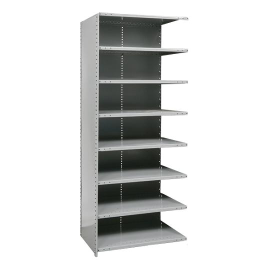 a572312-heavyduty-closed-shelving-adder-unit-w-8-shelves-48-w-x-12-d