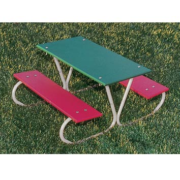 357-mc-46-preschool-picnic-table-multi-color-planks-zinc-frame