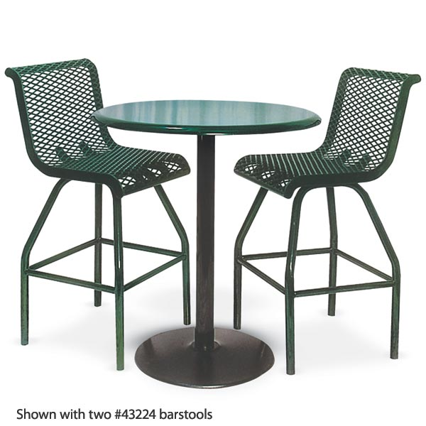 stock ultraplay 360rd outdoor portable pedestal table round