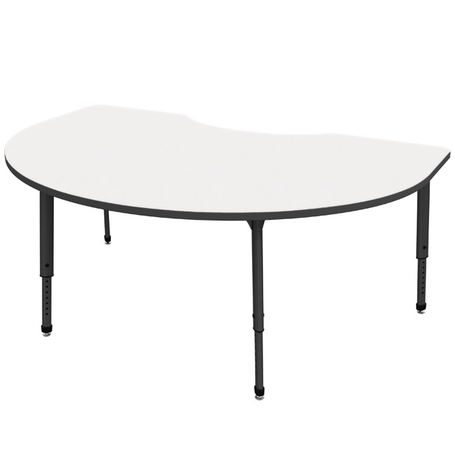 Marco Group Apex Series 48 Quot X 72 Quot Kidney Table 38 2268