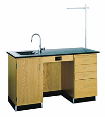 1214k-l-instructors-desk-w-sink-cabinet-on-left-side-60-x-30-solid-phenolic-top