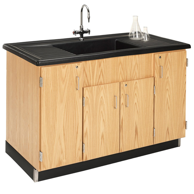 3303k-stationary-clean-up-sink-with-polyolefin-top